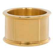 Ixxxi - Basisring 12mm Gold R1801