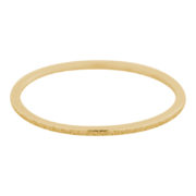 Ixxxi- Sandblasted 1mm Gold R3902