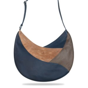 By Lin - Heliconia Shopper Blue Tas