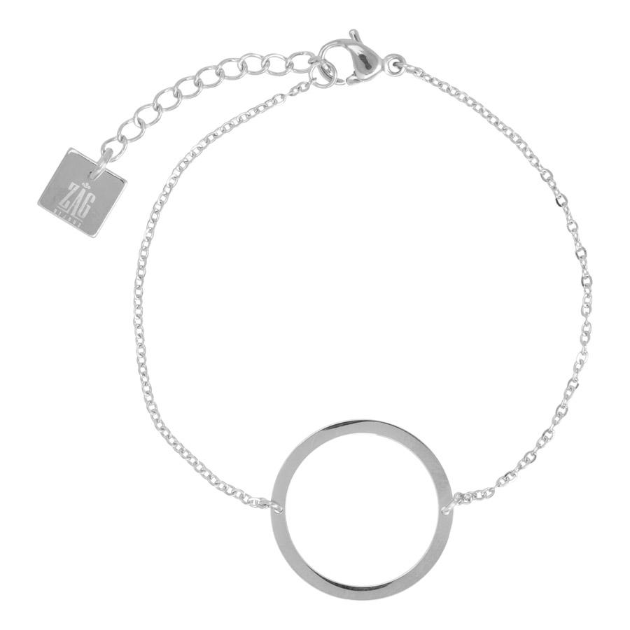 ZAG Bijoux - Silver Circle Bracelet