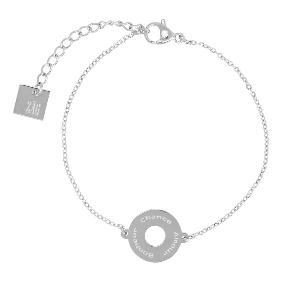 ZAG Bijoux - Silver ABC Bracelet