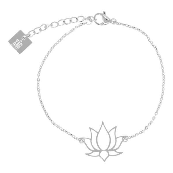 ZAG Bijoux - Silver Lotus Bracelet
