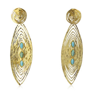 Gas Bijoux - Long Wave Earrings