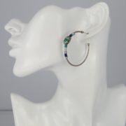 Gas Bijoux - Scarab Earrings Silver model