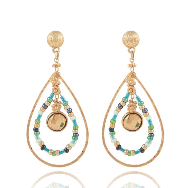 Gas Bijoux Aurore Serti Earrings