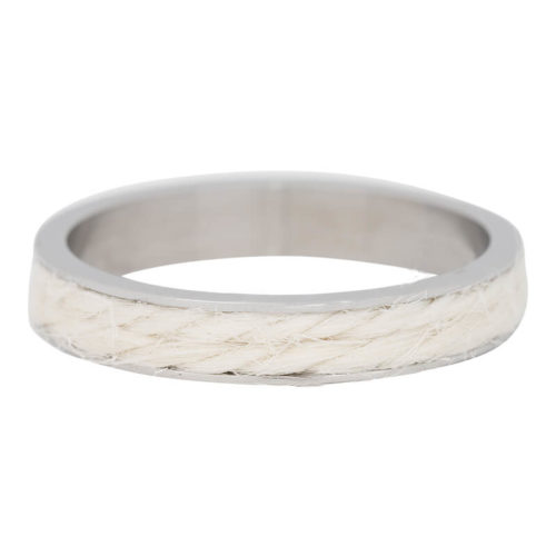 iXXXi Jewelry - Vulring - Silver coloured - White Rope - 4mm
