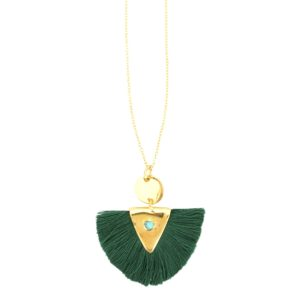 Une a Une - Green Necklace 01