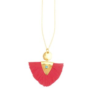 Une a Une - Pink Necklace 01