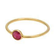 Une a Une - Ring Red Agate