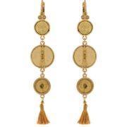 Satellite Paris - Gisele Earrings Gold Gis07do