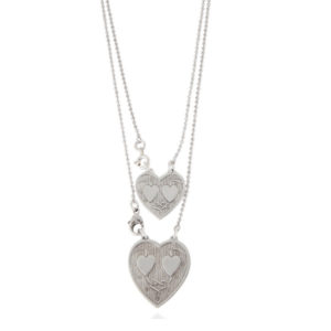 Gas Bijoux Big Hearts Silver