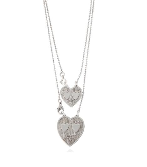 Gas Bijoux Big Hearts Silver