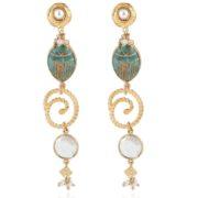 Gas Bijoux - Poeme Earrings Gold