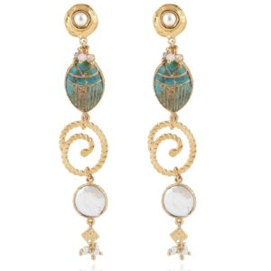 Gas Bijoux - Poeme Earrings Gold