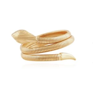 Gas Bijoux - Serpent Bracelet Gold 01