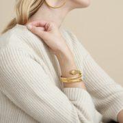 Gas Bijoux - Serpent Bracelet Gold 02
