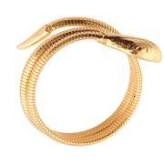 Gas Bijoux - Serpent Bracelet Gold 03