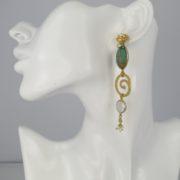 Gas Bijoux - Poeme Earrings Gold model