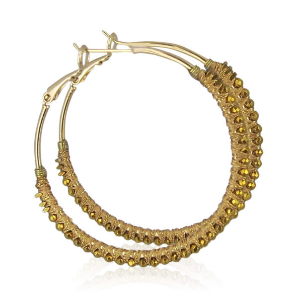 Satellite Paris - Earrings Gold