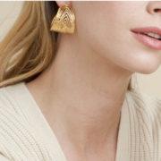 Gas Bijoux - Creole Wave Gold model 2
