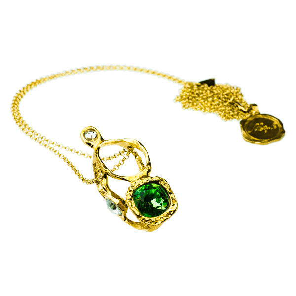 Motyle- Gold Necklace MG2186