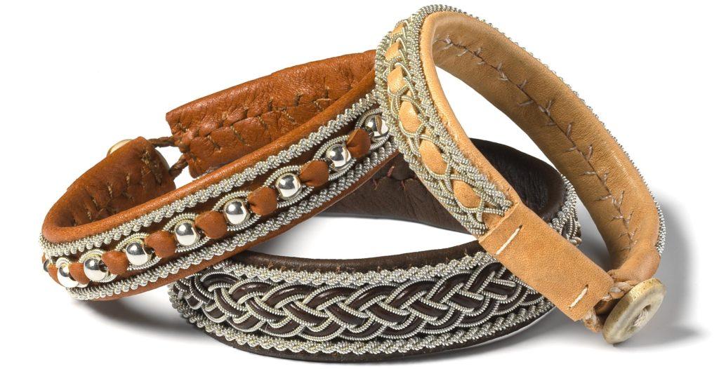 Saami Crafts - bruine armbanden