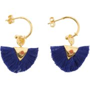 Une a Une - Royal Blue Earrings