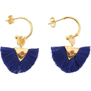 Une a Une - Royal Blue Earrings