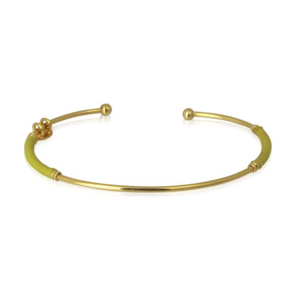 Gas Bijoux - Zanzibar Bracelet Yellow