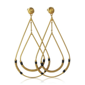 Gas Bijoux - Zanzibar Earrings Gold