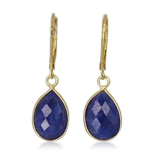 La Lacey 106 - Sapphire Earrings Small