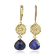 La Lacey 108 - Sapphire Earrings Double