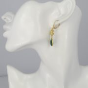 La Lacey 86 - Emerald Earrings Double model