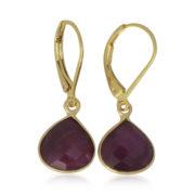 La Lacey 89 - Ruby Earrings Small