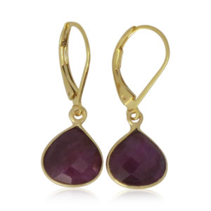La Lacey 89 - Ruby Earrings Small