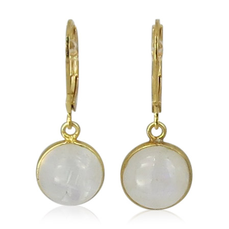 La Lacey 95 - Moonstone Earrings Small