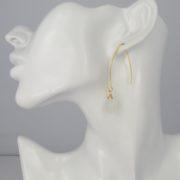 La Lacey 96 - Moonstone Earrings Hook model