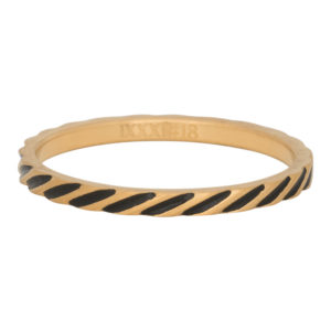Ixxxi - Slanting Stripes Ring R02812-16