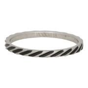Ixxxi - Slanting Stripes Ring R02812-18