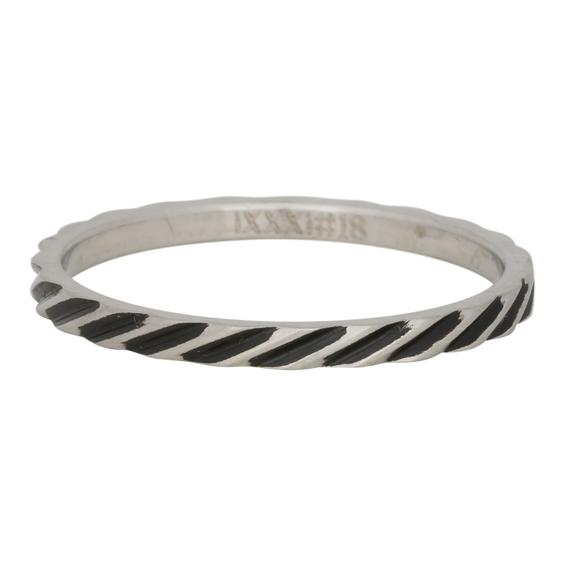 Ixxxi - Slanting Stripes Ring R02812-18