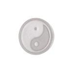 Ixxxi - Top Part Yin Yang Silver