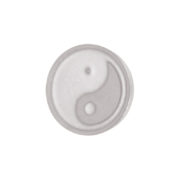 Ixxxi - Top Part Yin Yang Silver