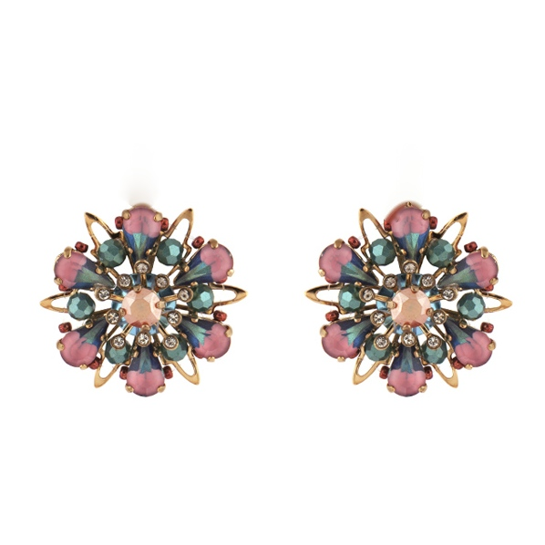 Satellite Paris - Rita Earrings Clips 04CLB