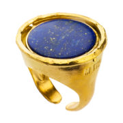 Motyle - Nefertiti Ring Lapis MG5564-R