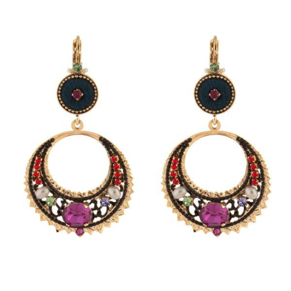 Satellite Paris - Annouck Earrings 09DOM