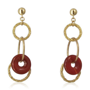 Smadar Sarid - Carnelian Earrings