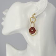Smadar Sarid - Carnelian Earrings model