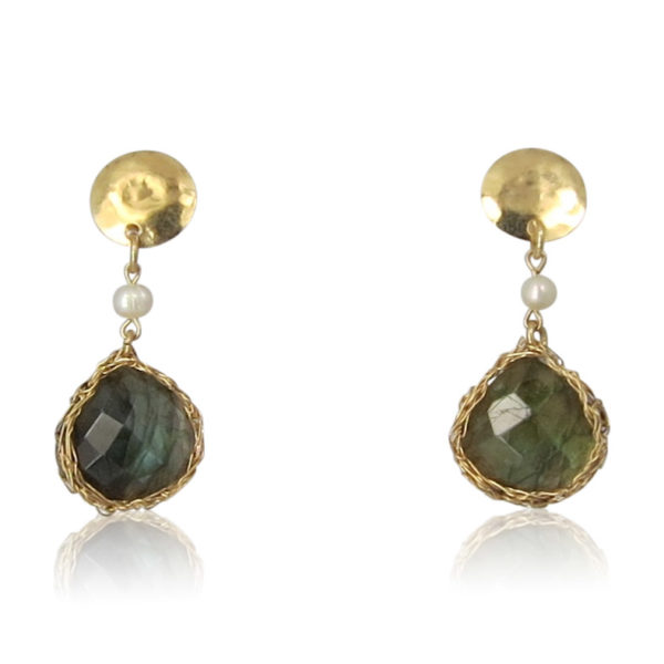 Smadar Sarid - Labradorite Earrings
