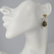 Smadar Sarid - Labradorite Earrings model