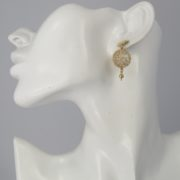 Smadar Sarid - Opalite Earrings model